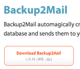Бэкап базы MySQL и отправка резервной копии по e-mail