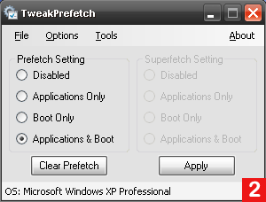 Настройка механизма Prefetcher в Windows