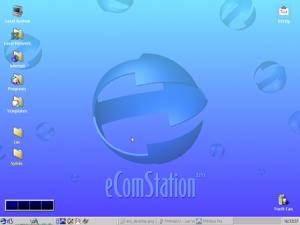 Демонстрационная LiveCD-версия eComStation