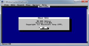 Скрытый текстовый редактор в Windows 7