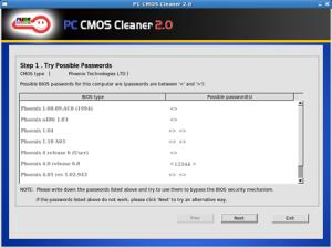 Восстановление пароля BIOS