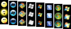 """Изменение внешнего вида кнопки """"Пуск"""" в Windows 7"""
