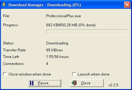 Бесплатная загрузка Microsoft Office Professional Plus 2010