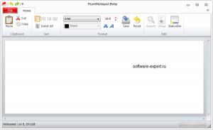 """Как оснастить блокнот Windows 7 """"ленточным"""" интерфейсом"""
