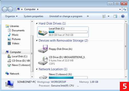 Отключение функции HomeGroup в Windows 7