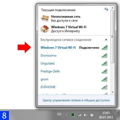Использование компьютера под управлением Windows 7 в качестве беспроводной точки доступа Wi-Fi
