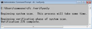 Проверка и восстановление защищенных системных файлов Windows