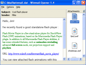 Как открыть файл winmail.dat