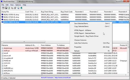Анализ аварийных дампов памяти Windows