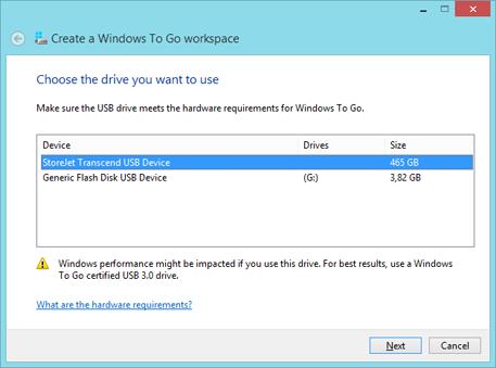 Установка Windows 8 на USB-накопитель