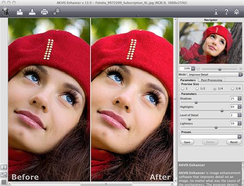 Комплексная коррекция фотографий с помощью AKVIS Enhancer