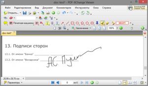 Как вставить рукописный текст (подпись) в PDF-файл