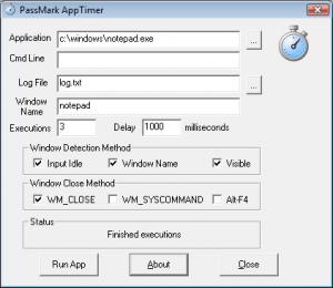 Измерение времени загрузки приложений Windows