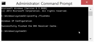 Очистка DNS-кеша в Windows