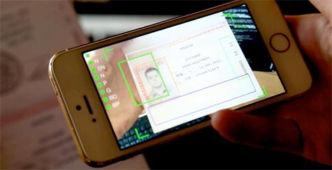Распознавание паспорта РФ в видеопотоке на мобильном телефоне