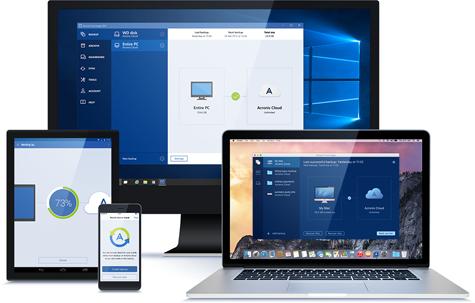 Резервное копирование PC, Mac и мобильных устройств в облако