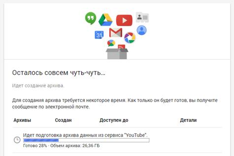 Как сделать резервную копию канала YouTube