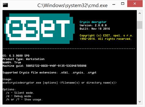 Как восстановить зашифрованные трояном-шифратором Crysis файлы