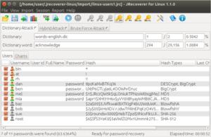 Аудит пользовательских паролей в Linux-системах