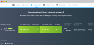Майнинг биткоинов и других криптовалют с помощью сервиса MinerGate