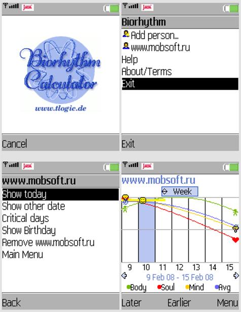 Biorhythm Calculator