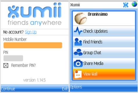 Мобильный мессенджер Xumii